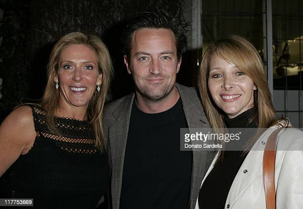Janet Crown Peterson Matthew Perry and Lisa Kudrow