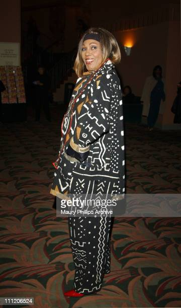 Ja'Net DuBois during New Babyface Musical Love Makes Things Happen at The Wiltern Theater in Los Angeles California United States