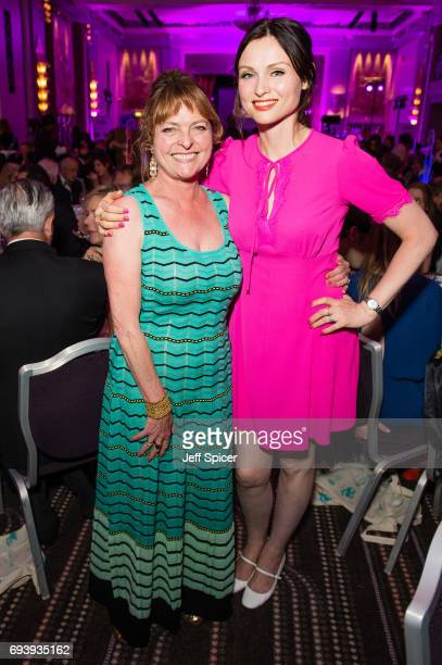 Janet Ellis and Sophie Ellis Bextor attend the National Youth Theatre's 'A Night for Life' at Park Lane Hotel on June 8 2017 in London England