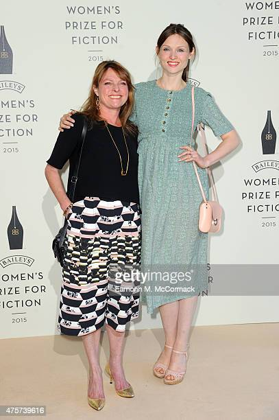 Janet Ellis and Sophie EllisBextor arrive to celebrate the 2015 Baileys Women's Prize for Fiction at London's Royal Festival Hall on Wednesday 3 June...