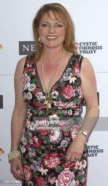 Janet Ellis during Cystic Fibrosis Trust Breathing Life Awards Arrivals at Royal Lancaster Hotel in London Great Britain