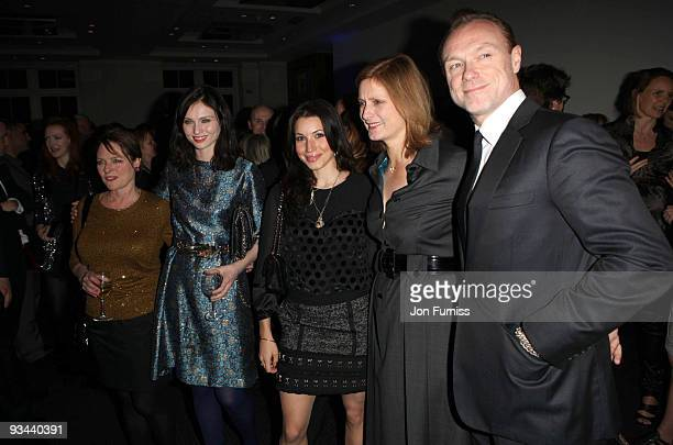 Janet Ellis Sophie Ellis Bextor Lucy Kemp Sarah Brown and Gary Kemp attends the London Premiere of 'Nowhere Boy' at BAFTA on November 26 2009 in...