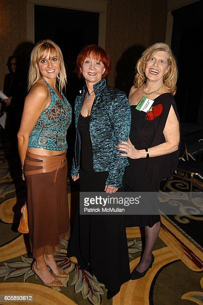 EJ Janet Evanovich and Anne Dozier attend The 60th Annual Edgar Awards Banquet at Grand Hyatt Hotel on April 27 2006 in New York City