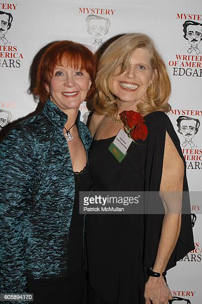 Janet Evanovich and Anne Dozier attend The 60th Annual Edgar Awards Banquet at Grand Hyatt Hotel on April 27 2006 in New York City