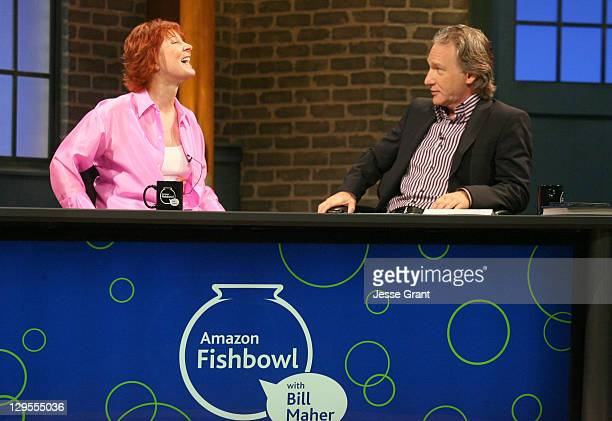 Janet Evanovich and Bill Maher *Exclusive*