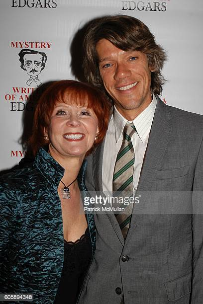 Janet Evanovich and Stephen Gaghan attend The 60th Annual Edgar Awards Banquet at Grand Hyatt Hotel on April 27 2006 in New York City