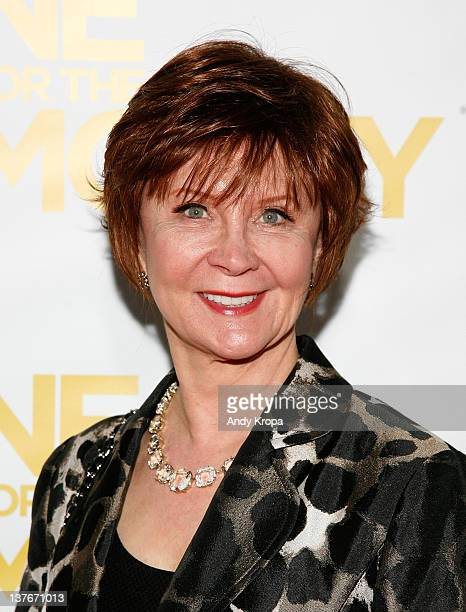 Janet Evanovich attends the One for the Money premiere at the AMC Loews Lincoln Square on January 24 2012 in New York City