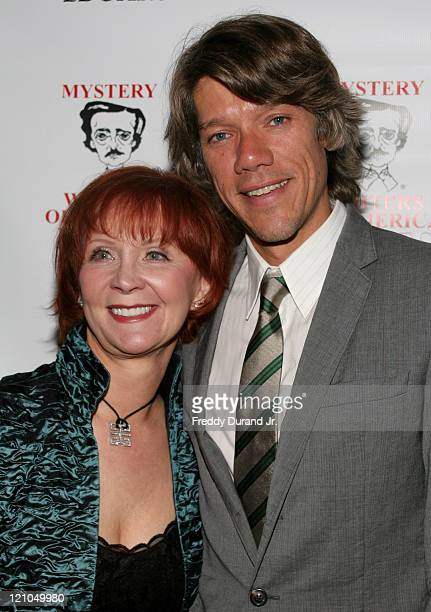 Janet Evanovich with writer/ director Stephen Gaghan