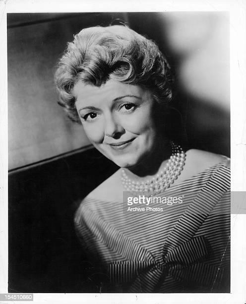 Janet Gaynor in publicity portrait for the film 'Bernardine' 1957