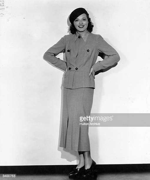 Janet Gaynor the American actress winner of the first 'Best Actress' Oscar who worked for Fox Films She was married to costume designer Adrian and...