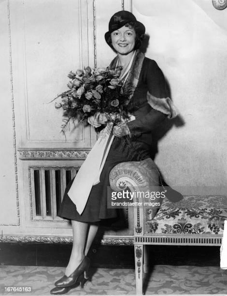 Janet Gaynor USamerican actress London/Dorchester Hotel December 8th 1931 Photograph Janet Gaynor USamerikanische Schauspielerin London/Dorchester...