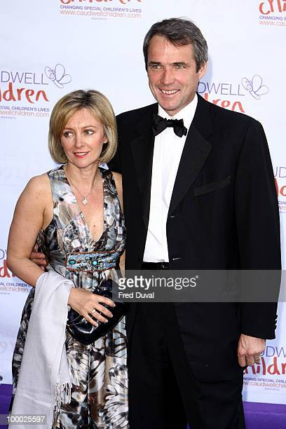 Janet Hansen and Alan hansen attends The Caudwell Children Butterfly Ball at Battersea Evolution on May 20 2010 in London England