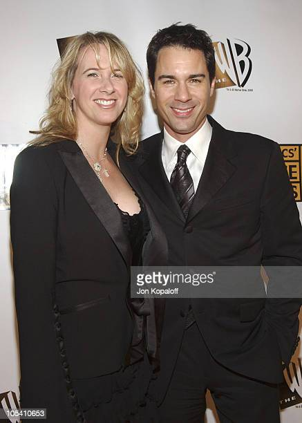 Janet Holden and Eric McCormack during 10th Annual Critics' Choice Awards Arrivals at Wiltern LG Theatre in Los Angeles California United States