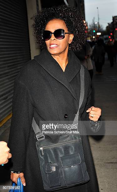 Janet Hubert is seen on January 28 2016 in New York City