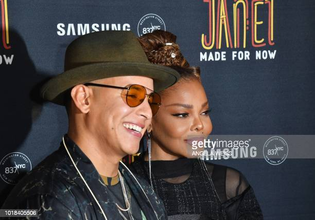 Janet Jackson attends the 'Made For Now' release party at Samsung 837 on August 17 2018 in New York City