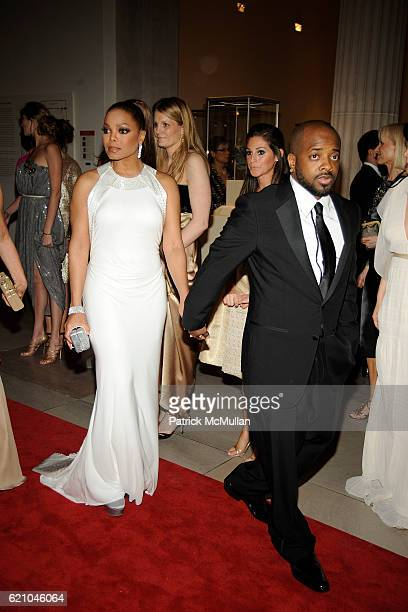 Janet Jackson and Jermaine Dupri attend THE COSTUME INSTITUTE GALA SUPERHEROES with honorary chair GIORGIO ARMANI at The Metropolitan Museum of Art...