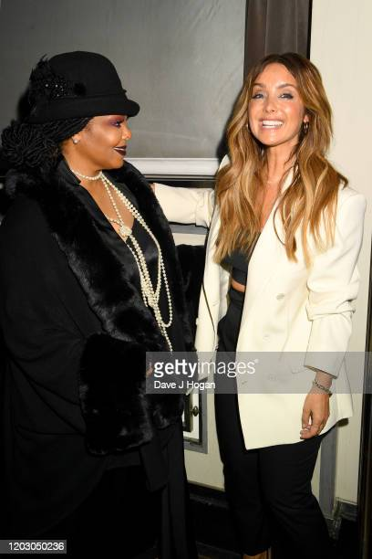 Janet Jackson and Louise Redknapp during the Gatsby Gala 2020 at Bloomsbury Ballroom on January 30 2020 in London England