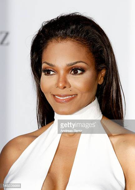 Janet Jackson arrives at the 2012 amfAR's Cinema Against AIDS during the 65th Annual Cannes Film Festival at Hotel Du Cap on May 24 2012 in Cap...