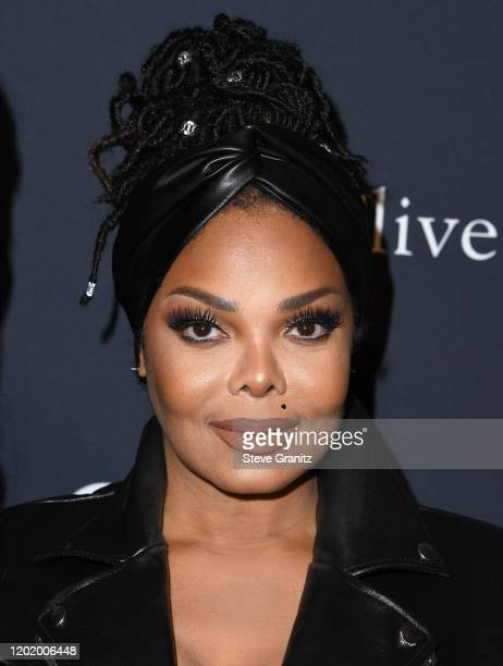 "Janet Jackson arrives at the Pre-GRAMMY Gala and GRAMMY Salute to Industry Icons Honoring Sean ""Diddy"" Combs at The Beverly Hilton Hotel on January..."