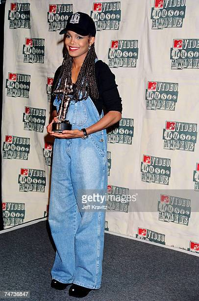 Janet Jackson at the 1994 MTV Video Music Awards at Radio City Music Hall in New York City New York