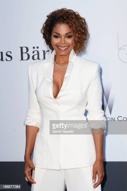 Janet Jackson attends amfAR's 20th Annual Cinema Against AIDS during The 66th Annual Cannes Film Festival at Hotel du CapEdenRoc on May 23 2013 in...