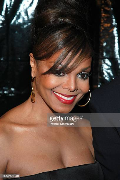 Janet Jackson attends Halle Berry Forest Whitaker Janet Jackson Herbie Hancock Honored at Ebony's PreOscar Celebration at Jim Henson Studios on...