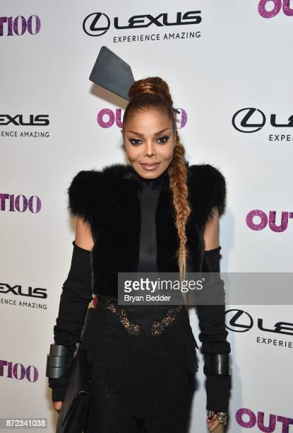 Janet Jackson attends OUT Magazine #OUT100 Event presented by Lexus at the the Altman Building on November 9 2017 in New York City