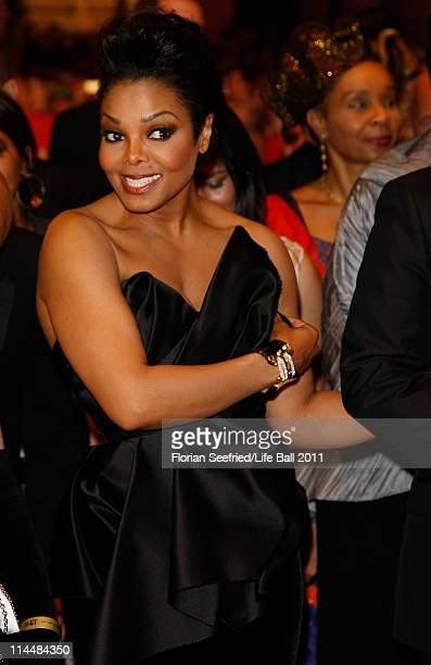 Janet Jackson attends the 19th Life Ball at the Town Hall on May 21 2011 in Vienna Austria