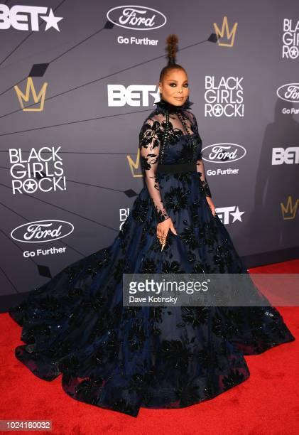 Janet Jackson attends the Black Girls Rock 2018 Red Carpet at NJPAC on August 26 2018 in Newark New Jersey