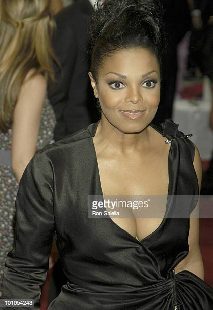 Janet Jackson attends the Costume Institute Gala Benefit to celebrate the opening of the American Woman Fashioning a National Identity exhibition at...