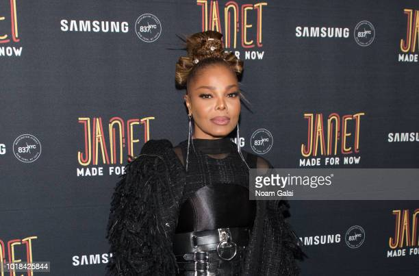 Janet Jackson attends the Made For Now release party at Samsung 837 on August 17 2018 in New York City