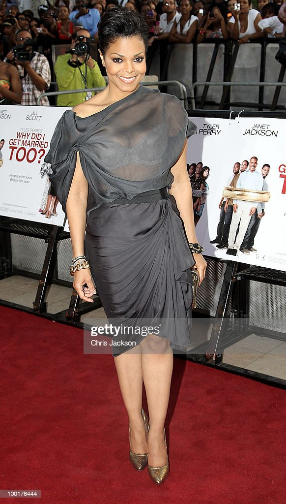 Janet Jackson attends the preview screening of 'Why Did I Get Married' at Brixton Ritzy on May 21, 2010 in London, England.