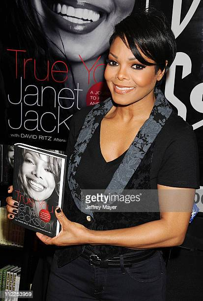 Janet Jackson Signs Copies Of Her New Book True You A Guide