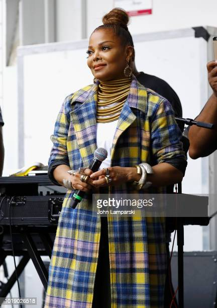 Janet Jackson celebrates 'Made For Now' at the 44th annual Harlem Week on August 18 2018 in New York City