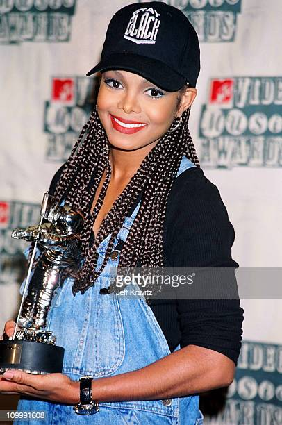 Janet Jackson during 1994 MTV Video Music Awards at Radio City Music Hall in New York City New York United States