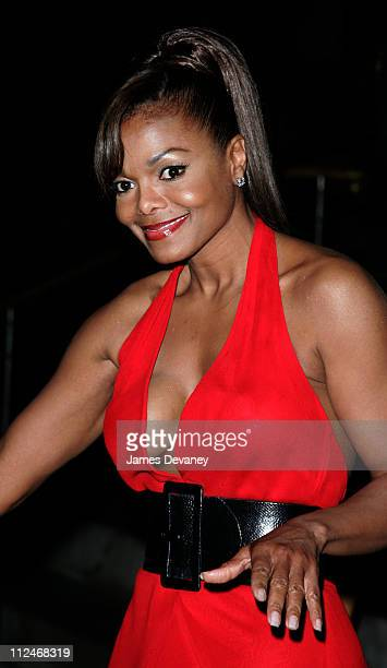 Janet Jackson during 2006 CFDA Awards Departures at New York Public Library in New York City New York United States