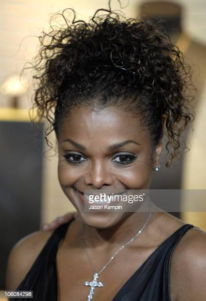 Janet Jackson during Cartier and Interview Magazine Celebrate The Cartier Charity Love Bracelet at The Cartier Mansion in New York City New York...