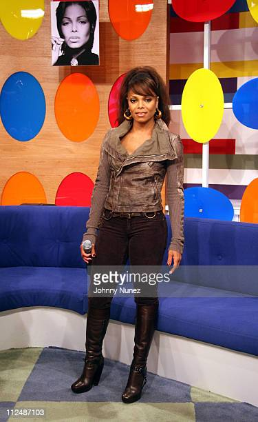 Janet Jackson during Janet Jackson Appears on BET's 106 Park September 25 2006 at BET Studios in New York City New York United States