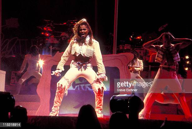 60 Top Janet Jackson Performs At Madison Square Garden In