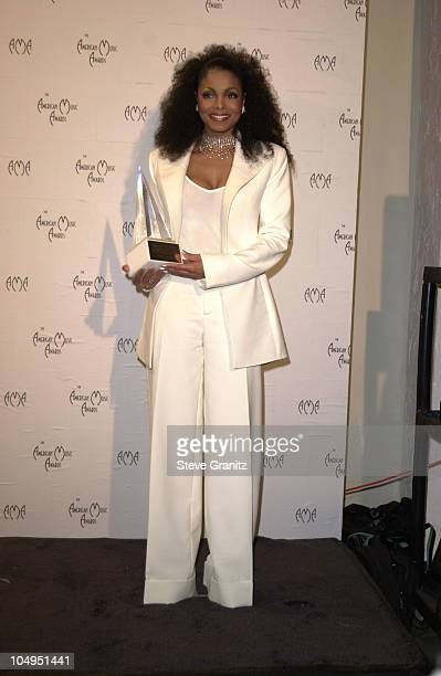 Janet Jackson during The 28th Annual American Music Awards at Shrine Auditorium in Los Angeles California United States