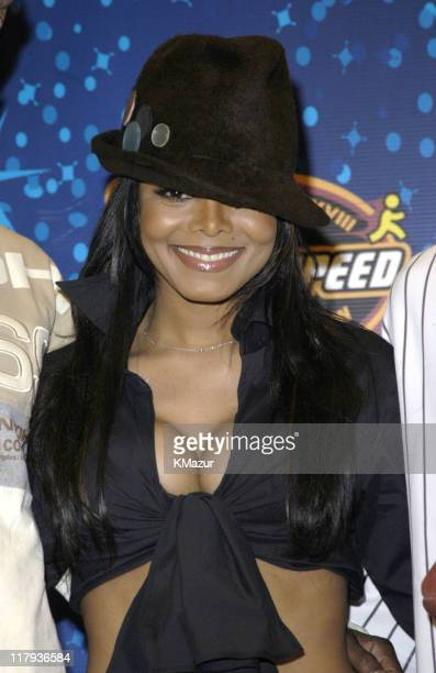Janet Jackson during The AOL TopSpeed Super Bowl XXXVIII Halftime Show Produced by MTV Press Conference at George Brown Convention Center in Houston...