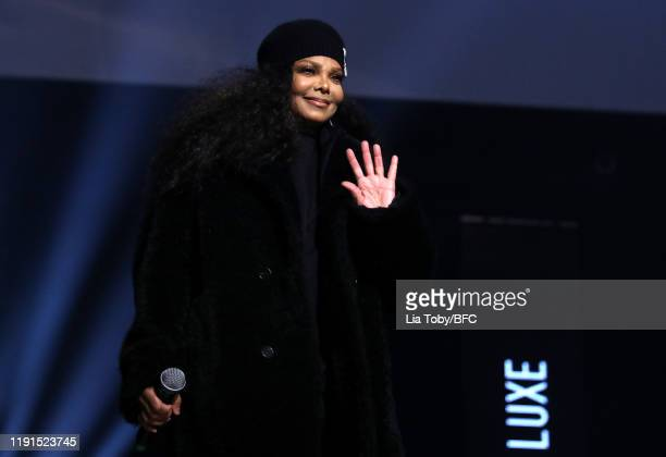 Janet Jackson on stage during The Fashion Awards 2019 held at Royal Albert Hall on December 02, 2019 in London, England.