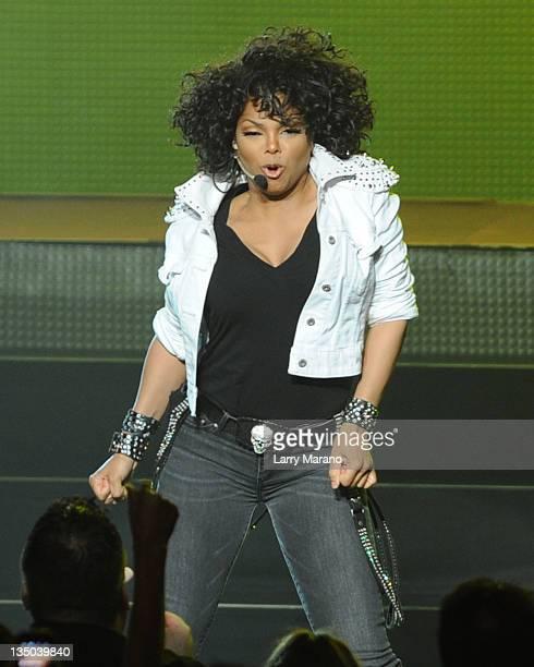 Janet Jackson performs at Fillmore Miami Beach on December 5 2011 in Miami Beach Florida