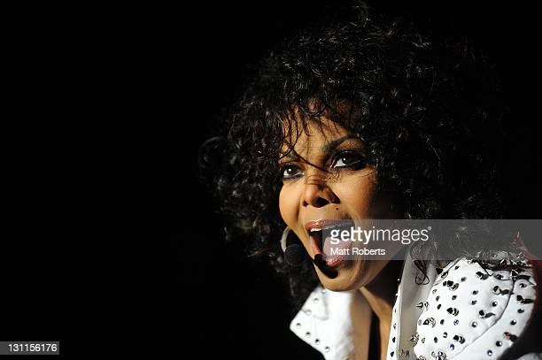 Janet Jackson performs live on stage at the Gold Coast Convention and Exhibition Centre on November 2 2011 in Gold Coast Australia