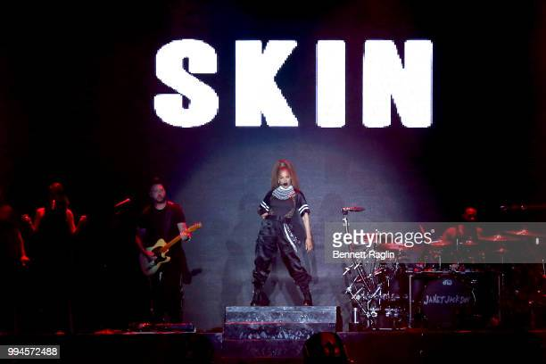 Janet Jackson performs onstage during the 2018 Essence Festival presented by CocaCola Day 3 at Louisiana Superdome on July 7 2018 in New Orleans...