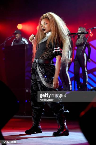 Janet Jackson performs onstage during the 2018 Global Citizen Festival Be The Generation in Central Park on September 29 2018 in New York City