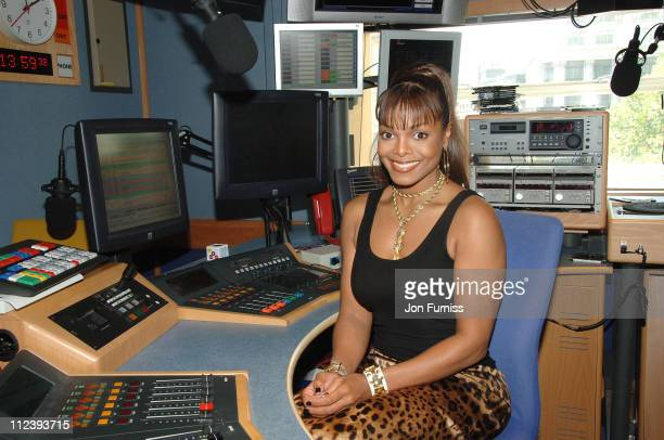 Janet Jackson takes to the mic to host an exclusive show for Capital Radio's Entertainment Weekly which will broadcast nationally on Sunday at 1900...
