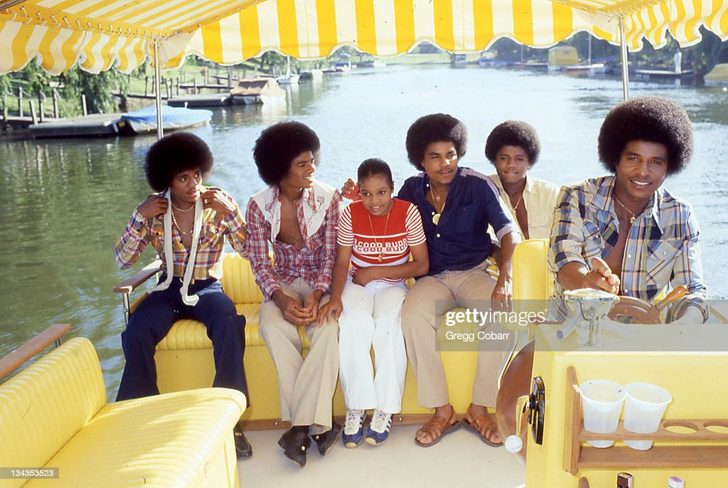 Michael Jackson and the Jackson 5 Publicity Photos - August 17, 1978