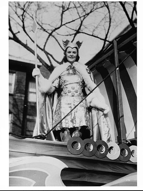 Janet K Flynn of Minnesota Federal Savings and Loan was Queen of Snows at the 1939 St Paul Winter Carnival