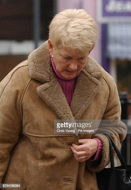Janet Law outside Luton Crown Court Law a warden who stole money from a 91yearold pensioner to feed a 'bizarre' slot machine gambling habit walked...